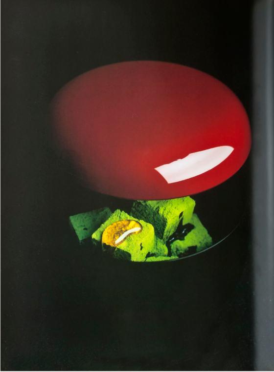 Boîte laque rouge