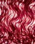 Spaghettinis cuits au jus de fraise, crème de mascarpone, fraises écrasées, sorbet fraise. (c) Jean-Jacques Pallot
