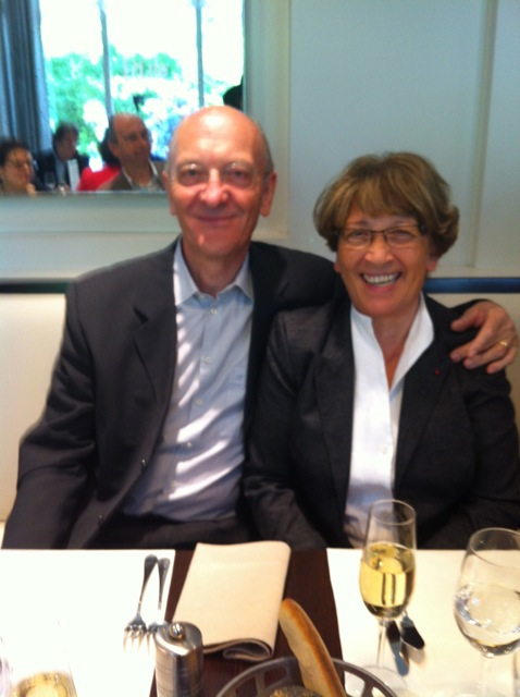 Bernadette et Paul Dodane, créateurs de Cristel.