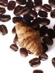Croissant infiniment Café. Pâte  levée feuilletée au café Lapar Rouge du Brésil. (c) Laurent Fau
