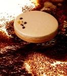 Tarte Infiniment Café. Pâte sablée, biscuit imbibé au café, ganache et crème Chantilly au café Bourbon Pointu de la Réunion. (c) Laurent Fau