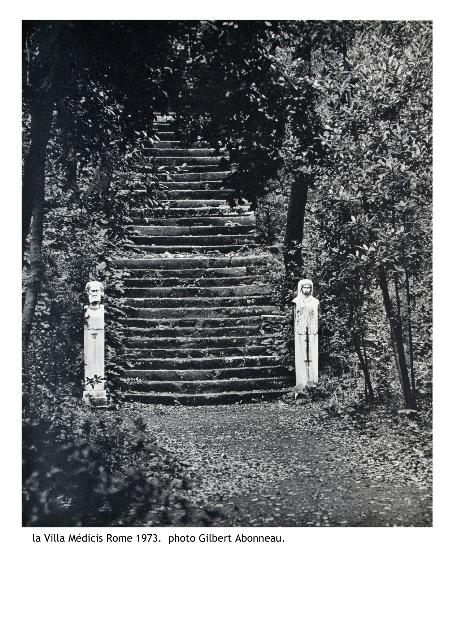 Villa Médicis escalier