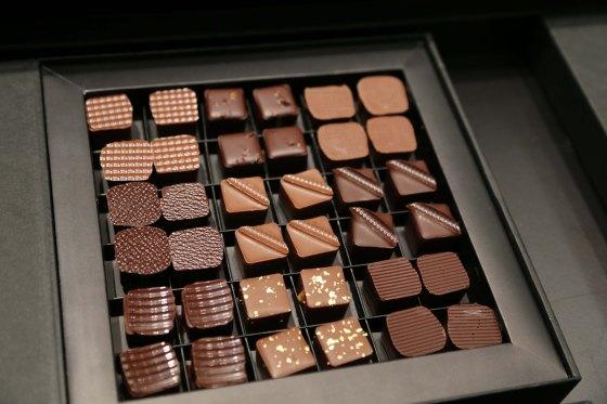 Des bouchées de chocolat à dévorer. (c) Sarah Vasseghi