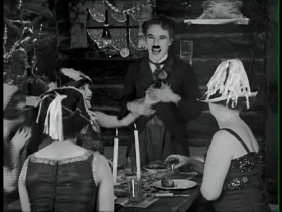 La Ruée vers l'or, de Charlie Chaplin. (c) Roy Export S.A.S.